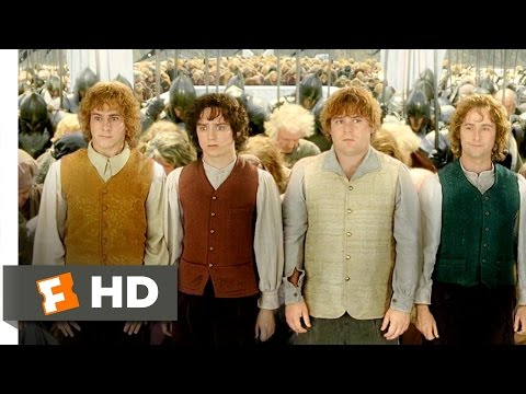 The Lord of the Rings: The Return of the King (9/9) Movie CLIP - You Bow to No One (2003) HD