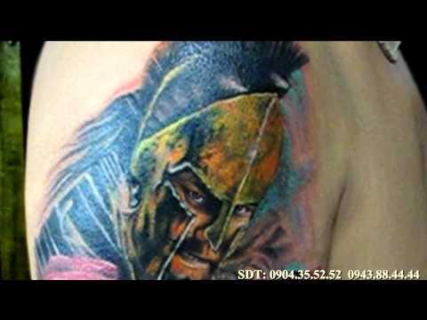 Tattoo Cover up - Xăm Hình 300 Chiến Binh- by art: Hung_KTS( tattoo viet nam)