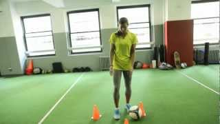 How To Perform Tobin Heath's Closed-Space Dribbling Soccer