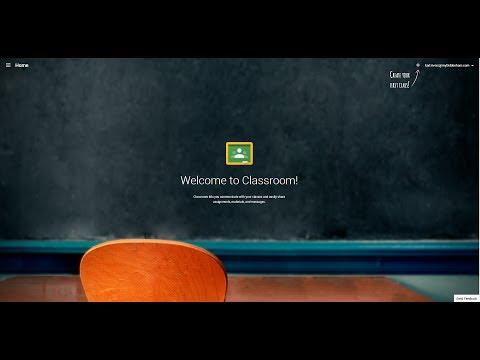 Google Classroom - First Look