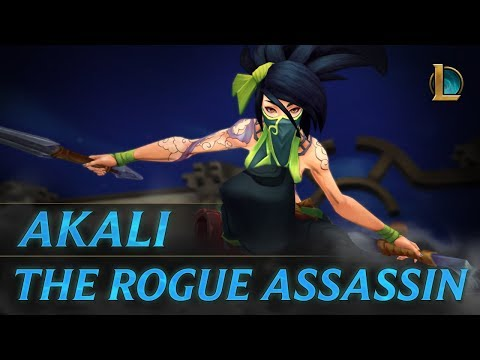 Akali: Rogue Assassin | Champion Trailer - League of Legends