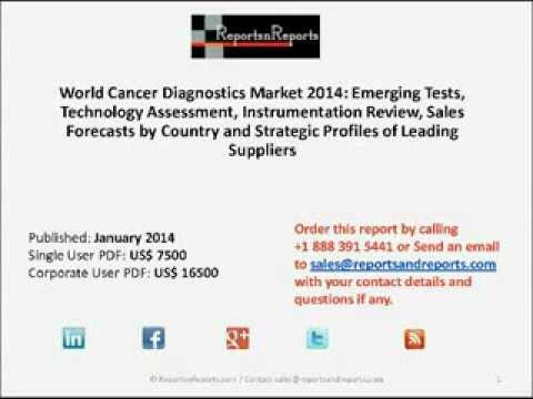 World Cancer Diagnostics Market 2014: US, UK, France, Germany, Italy, Spain and Japan Analyzed