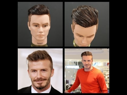 David Beckham NEW 2014 Haircut Tutorial | The Salon Guy