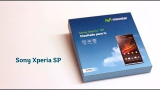 MOVISTAR Sony Xperia SP Unboxing