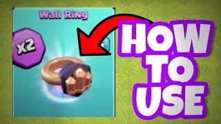 "🔥HOW TO USE ""RING OF WALLS""🔥 + Sneak peek updates😎"