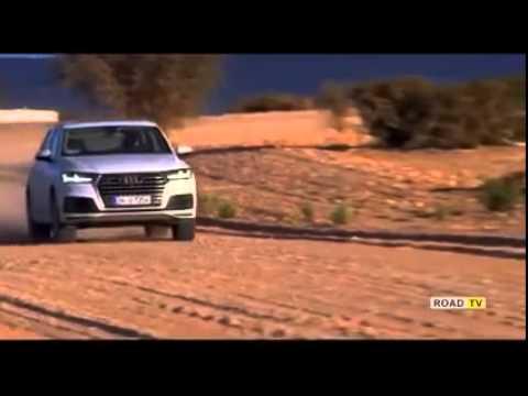 Test drive Audi Q7 2016 модельного года