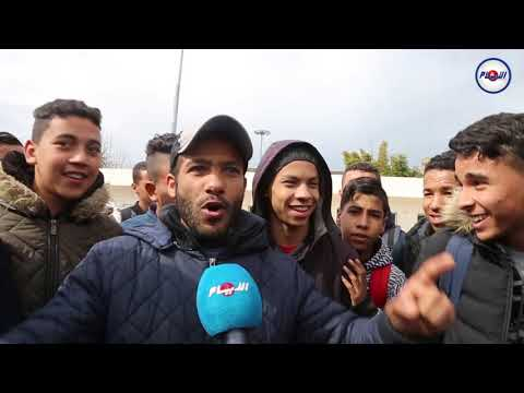 أغرب فيديو يمكن أن تشاهده عن مشجع بيضاوي قبل ديربي الرجاء والوداد