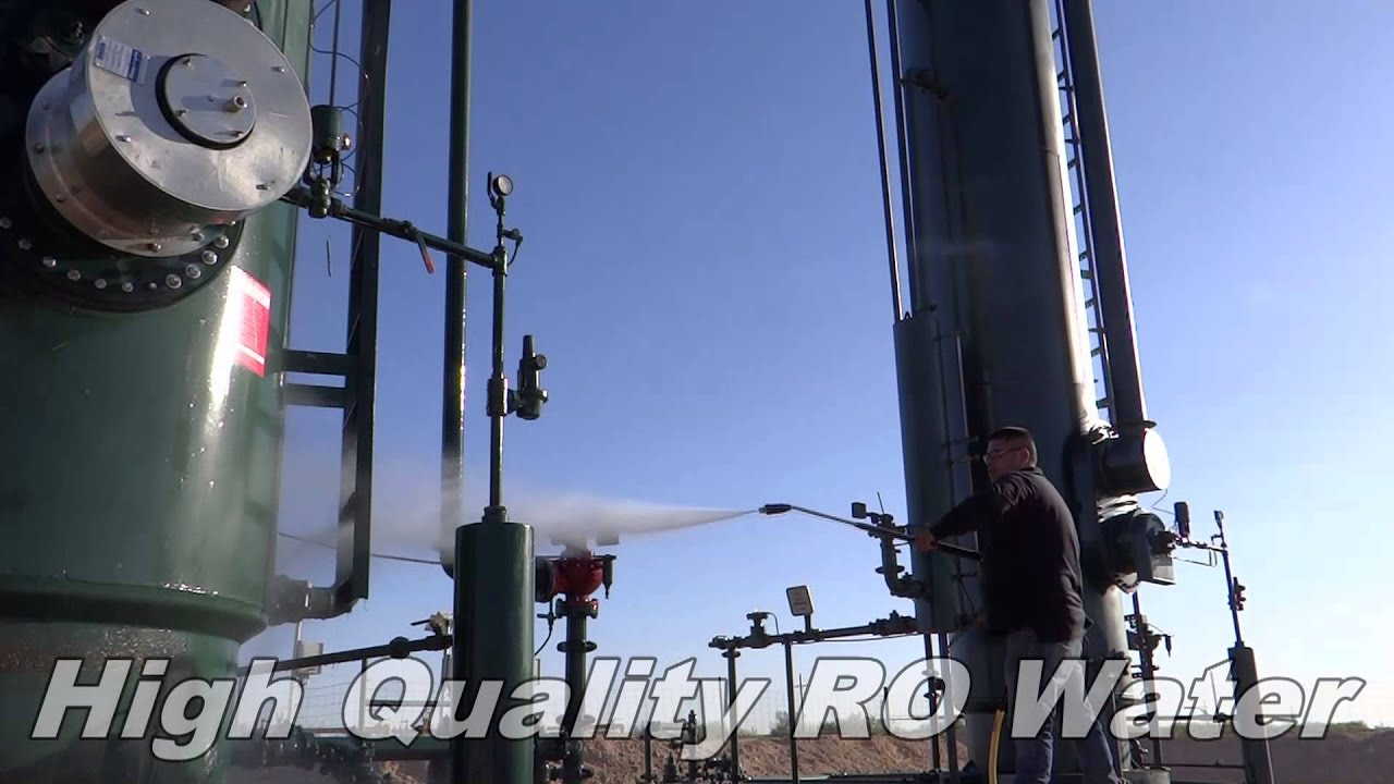 Oilfield Cleaning Services : Oil field steaming clean equipment midland texas youtube