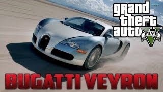 "GTA 5 ""Bugatti Veyron"" (Adder) Location! Secret Car"