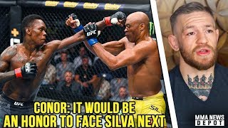 UFC Pros react to Israel Adesanya vs Anderson Silva; Conor targets Silva; Dana reacts to UFC 234
