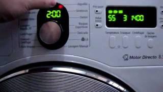 Lavadora Samsung 8,5kg (WF8854LJF1/XAZ) Demonstração