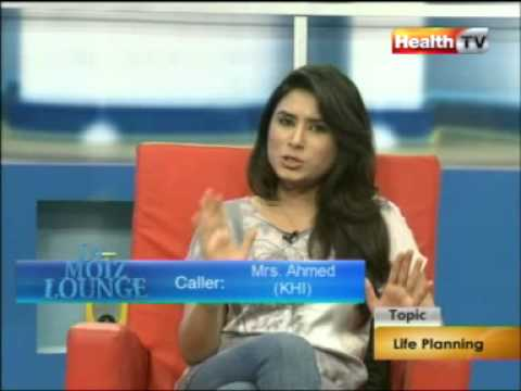 ''Dr Moiz Lounge'' Topic : LIFE PLANNING part-1/4 (05-SEP-12) Health TV