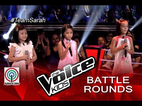 "The Voice Kids Philippines 2015 Battle Performance: ""Iduyan Mo"
