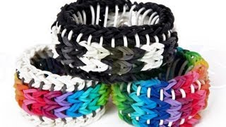 Rainbow Loom Sailors Pinstripe Tutorial How To Make A
