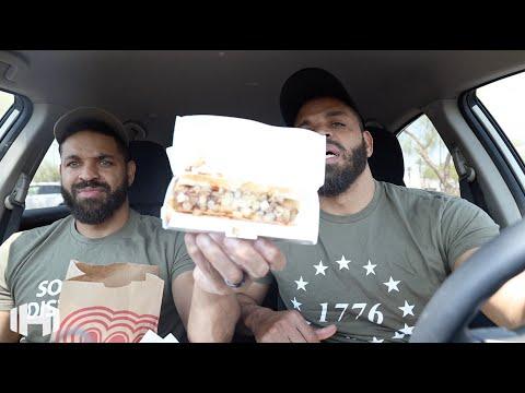 "Eating Wienerschnitzel ""Kansas City Hot Dog"""