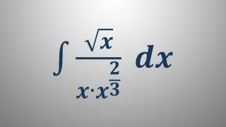 Nedoločeni integral 6