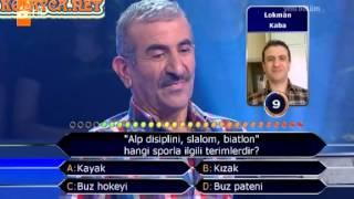 Kim Milyoner Olmak Ister 244. bölüm Ahmet Kaba 26.06.2013