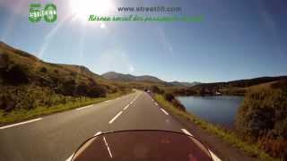 Roadbook moto Puy-de-Dôme : Le Lac Chambon - Col de Guéry
