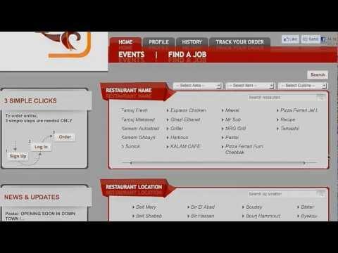 How To Order Food Online - TlobOnline.com