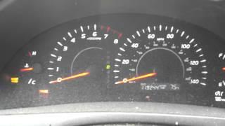 2007 Toyota Camry, Brake Light And ABS, Gauges Crazy