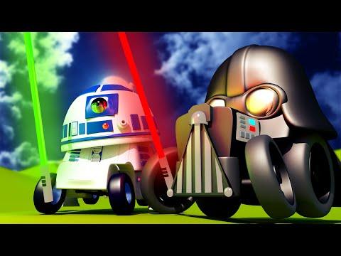 Mesto áut - Star Wars - Zápas svetelnými mečmi