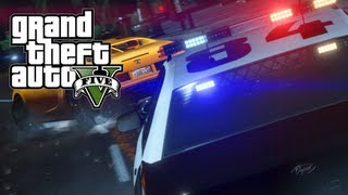 GTA 5 Wanted Level System, Emergency Services & Smarter