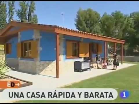 Espa a directo visita casas prefabricadas cofitor youtube for Casas prefabricadas madrid