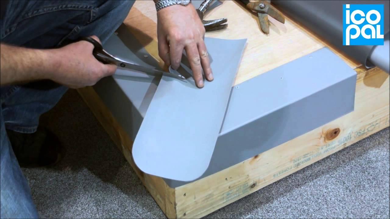 External Corners - Monarplan PVC Single Ply Roofing - YouTube