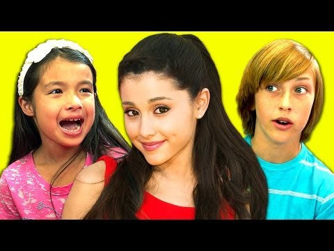 KIDS REACT TO ARIANA GRANDE (BABY I, THE WAY),