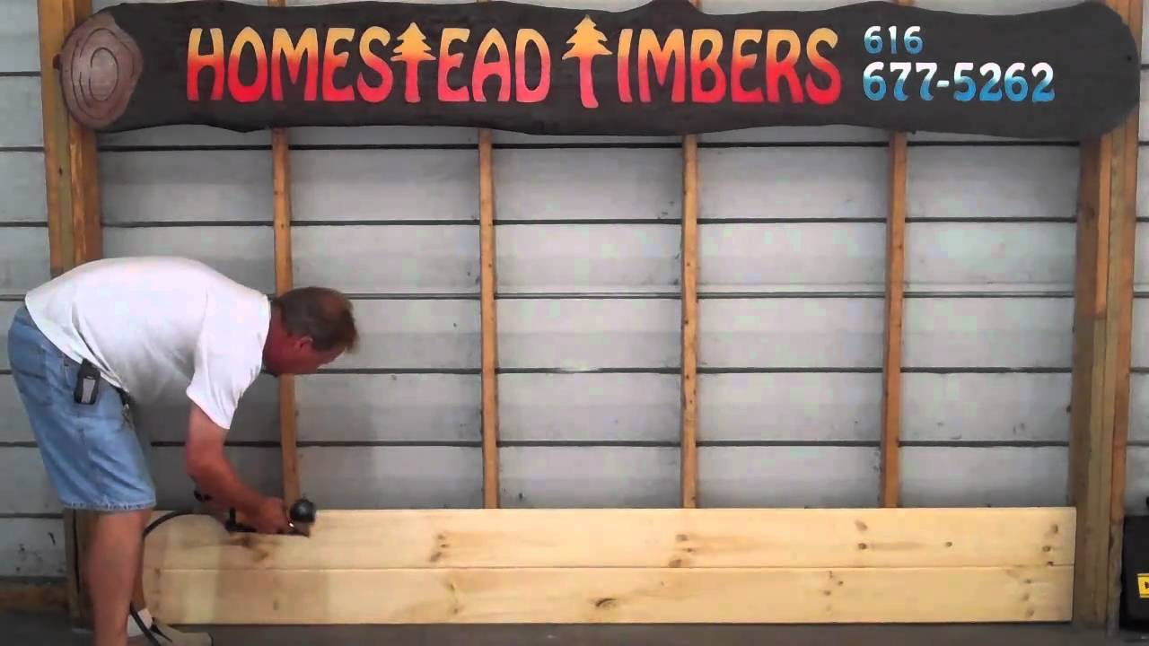 How To Install Homestead Timbers Tongue And Groove