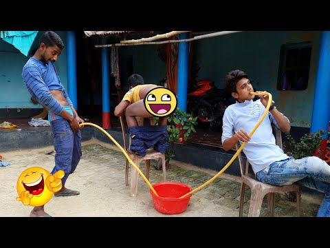 Must Watch New Funny Comedy Videos 2019   Episode 30   #LungiFun