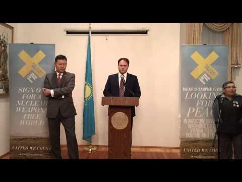 Atom Project Art Show at Kazakh Embassy, Sept 10, 2013