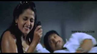 Dailymotion Anushka Hot Sexy Navel Pressed By Gopichand, A