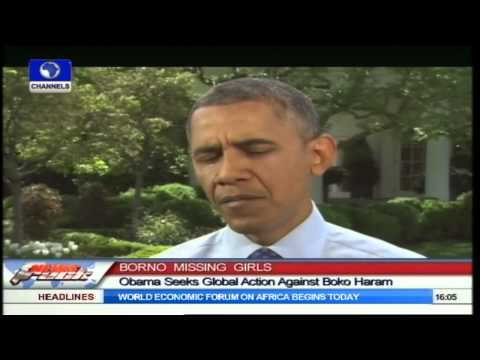 We Will Do Everything To Rescue Missing Girls-- Obama