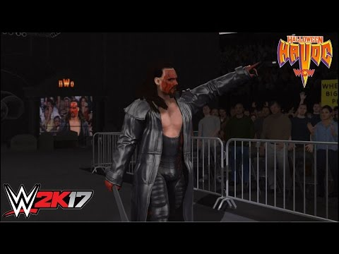 WWE 2K17 - Sting vs. Bret Hart: WCW Halloween Havoc '98