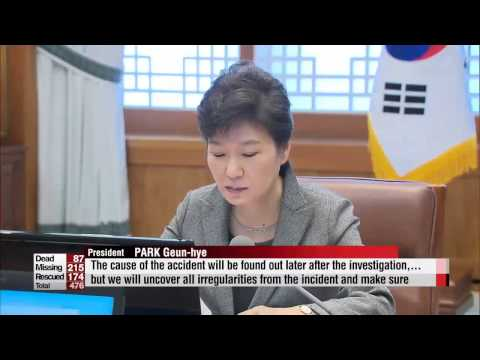 President Park likens actions of captain, crew to murder