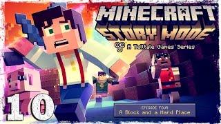 Minecraft Story Mode. #10: Новый план.