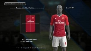 PES 2013 KITS / Camisas PS3 Premier League (Arsenal