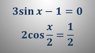 Trigonometrične enačbe 4