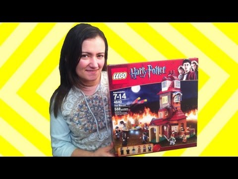 LEGO Harry Potter The Burrow 4840 Review
