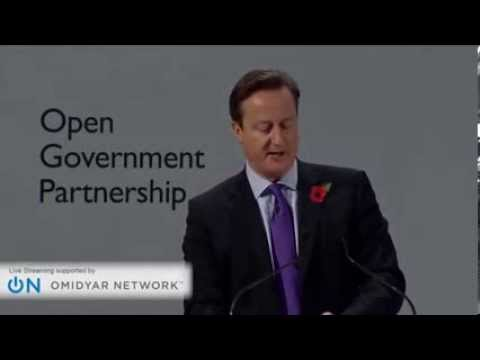 David Cameron announces public register of company ownership