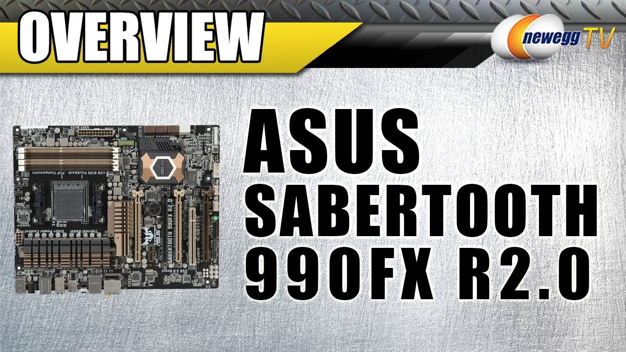 Newegg Tv  Asus Sabertooth 990fx R2 0 Am3  Motherboard Overview