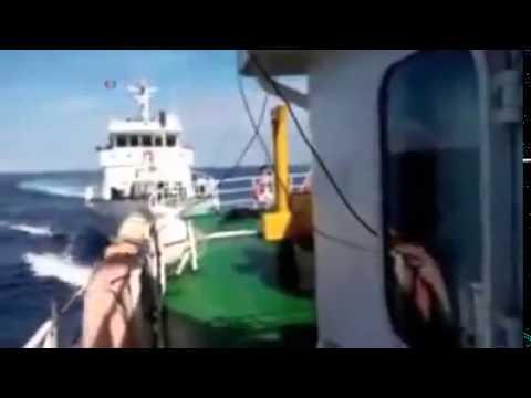 China Navy Clash Vietnam Navy