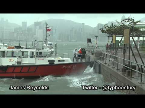 颱風納沙 Typhoon Nesat / Pedring Whips Past Ho image