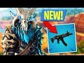 New Fortnite Update SUBMACHINE GUN Gameplay Fortnite Battle Royale