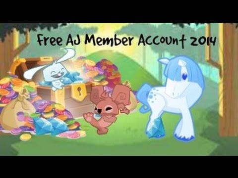 Animal Jam FREE MEMBER account 2014