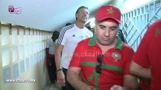 رونار تيقلب على بنتو من قلب الملعب بأبيدجان مباشرة بعد انتهاء اللقاء |