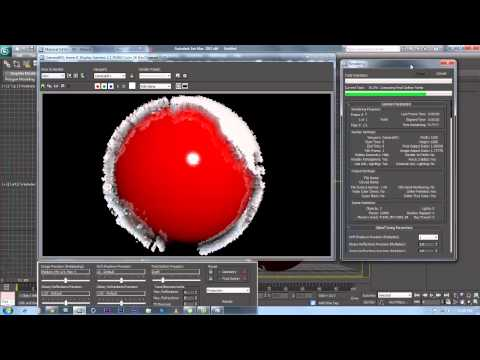how to make a globe in 3D max