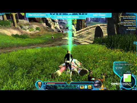 ★ SWTOR -- Jedi Knight -- Gannons Gameplay
