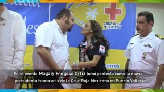 Ramón Guerrero reconoce la labor de la Cruz Roja Mexicana